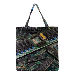 Computer Ram Tech Grocery Tote Bag by BangZart