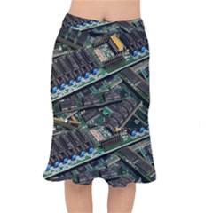 Computer Ram Tech Mermaid Skirt