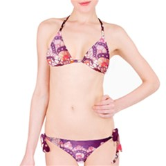 Colorful Art Traditional Batik Pattern Bikini Set