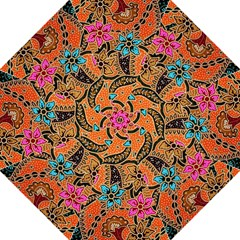 Colorful The Beautiful Of Art Indonesian Batik Pattern(1) Folding Umbrellas