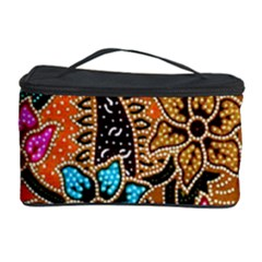 Colorful The Beautiful Of Art Indonesian Batik Pattern(1) Cosmetic Storage Case by BangZart
