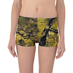 Colorful The Beautiful Of Traditional Art Indonesian Batik Pattern Reversible Boyleg Bikini Bottoms