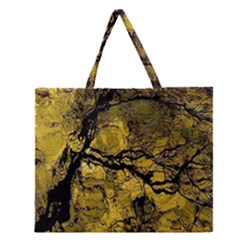 Colorful The Beautiful Of Traditional Art Indonesian Batik Pattern Zipper Large Tote Bag by BangZart