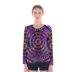 Color In The Round Women s Long Sleeve Tee