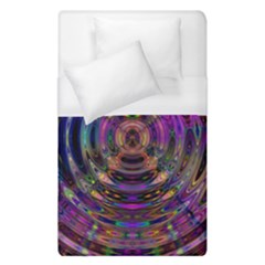 Color In The Round Duvet Cover (single Size) by BangZart