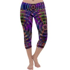 Color In The Round Capri Yoga Leggings