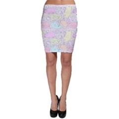 Cat Animal Pet Pattern Bodycon Skirt