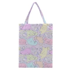 Cat Animal Pet Pattern Classic Tote Bag by BangZart