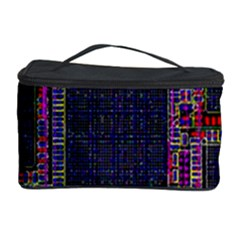Cad Technology Circuit Board Layout Pattern Cosmetic Storage Case