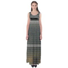 Building Pattern Empire Waist Maxi Dress