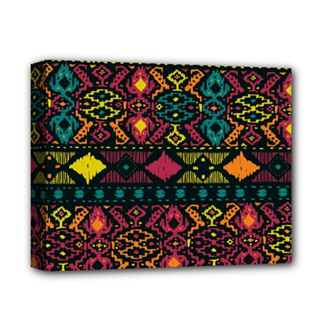 Bohemian Patterns Tribal Deluxe Canvas 14  X 11  by BangZart