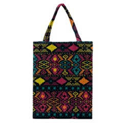 Bohemian Patterns Tribal Classic Tote Bag by BangZart