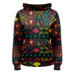 Bohemian Patterns Tribal Women s Pullover Hoodie