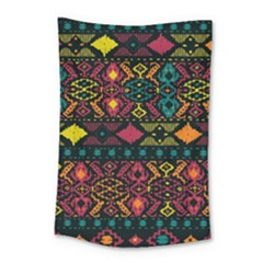 Bohemian Patterns Tribal Small Tapestry
