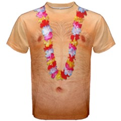 Hairy Chest Naked Body Faux Men s Cotton Tee by daydreamer