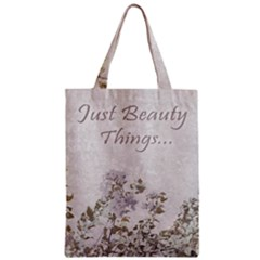 Shabby Chic Style Motivational Quote Classic Tote Bag