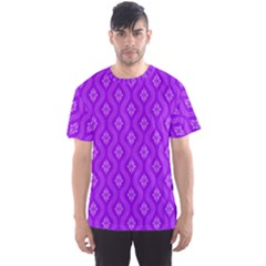 Decorative Seamless Pattern  Men s Sports Mesh Tee