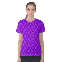 Decorative Seamless Pattern  Women s Cotton Tee
