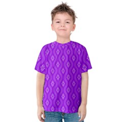 Decorative Seamless Pattern  Kids  Cotton Tee