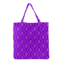Decorative Seamless Pattern  Grocery Tote Bag