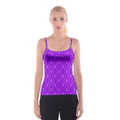 Decorative Seamless Pattern  Spaghetti Strap Top