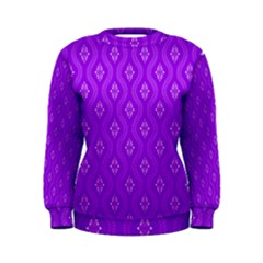 Decorative Seamless Pattern  Women s Sweatshirt