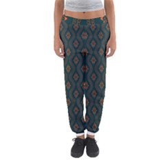 Ornamental Pattern Background Women s Jogger Sweatpants