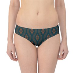 Ornamental Pattern Background Hipster Bikini Bottoms
