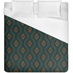 Ornamental Pattern Background Duvet Cover (king Size)
