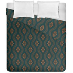 Ornamental Pattern Background Duvet Cover Double Side (california King Size)