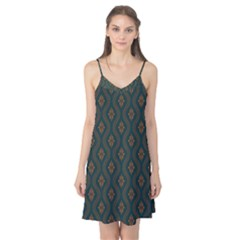 Ornamental Pattern Background Camis Nightgown