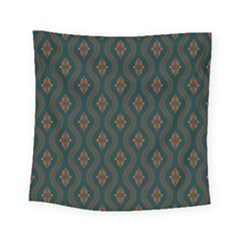 Ornamental Pattern Background Square Tapestry (small)