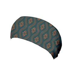 Ornamental Pattern Background Yoga Headband