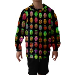 Beetles Insects Bugs Hooded Wind Breaker (kids)