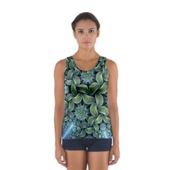 Blue Lotus Sport Tank Top