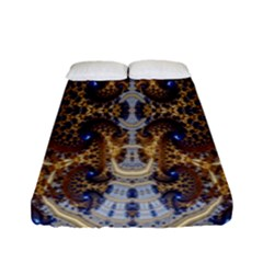 Baroque Fractal Pattern Fitted Sheet (full/ Double Size)