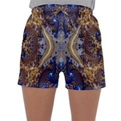 Baroque Fractal Pattern Sleepwear Shorts