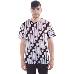 Batik Art Patterns Men s Sports Mesh Tee
