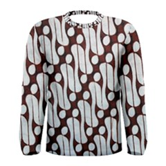 Batik Art Patterns Men s Long Sleeve Tee