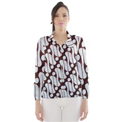 Batik Art Patterns Wind Breaker (women)