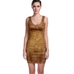 Batik Art Pattern Bodycon Dress