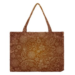 Batik Art Pattern Medium Tote Bag by BangZart