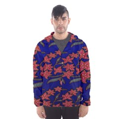 Batik  Fabric Hooded Wind Breaker (men)