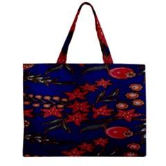 Batik  Fabric Zipper Mini Tote Bag by BangZart