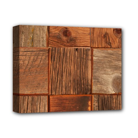 Barnwood Unfinished Deluxe Canvas 14  X 11  by BangZart