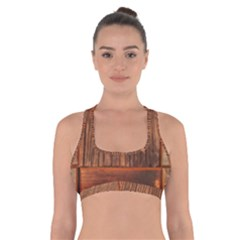 Barnwood Unfinished Cross Back Sports Bra