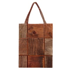 Barnwood Unfinished Classic Tote Bag by BangZart