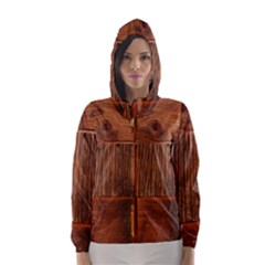 Barnwood Unfinished Hooded Wind Breaker (women)
