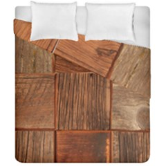 Barnwood Unfinished Duvet Cover Double Side (california King Size)