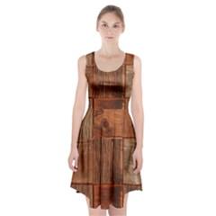 Barnwood Unfinished Racerback Midi Dress